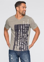 T-shirt slim fit, RAINBOW, Gesso