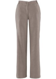 Pantaloni in lino, bpc bonprix collection, Marroncino