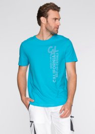 T-shirt regular fit, bpc bonprix collection, Turchese