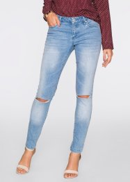 Jeans push-up skinny, BODYFLIRT, Blu bleached