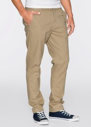 Pantalone chino slim fit STRAIGHT, RAINBOW, Blu scuro