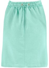 Gonna in jersey, bpc bonprix collection, Menta chiaro melange