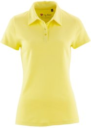 Polo a manica corta, bpc bonprix collection, Giallo limone chiaro