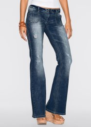 Jeans bootcut, RAINBOW, Dark denim