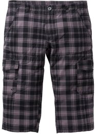 Pantalone cargo 3/4 regular fit diritto, bpc bonprix collection