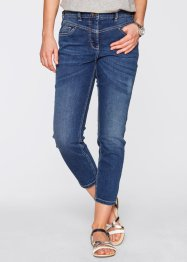 Jeans elasticizzato 7/8 girlfriend, bpc bonprix collection