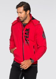 Giacca di softshell regular fit, bpc selection, Rosso