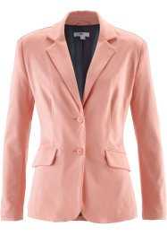 Blazer in jersey, bpc bonprix collection, Corallo chiaro