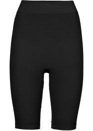 Pantaloncino ciclista modellante, bpc bonprix collection, Nero