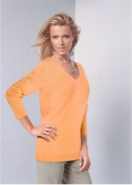 Pullover con pizzo, bpc selection