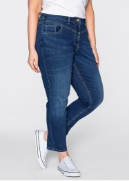Jeans elasticizzato 7/8 girlfriend, bpc bonprix collection, Blu stone used