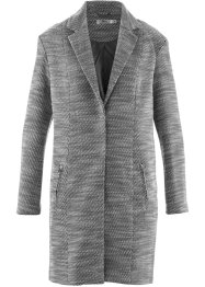 Cappotto, bpc bonprix collection, Nero / bianco panna