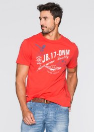 T-shirt stampata regular fit, John Baner JEANSWEAR, Aragosta