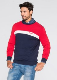 Pullover regular fit, John Baner JEANSWEAR, Rosso