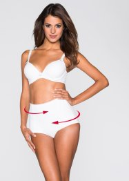 Panty modellante, bpc bonprix collection, Bianco