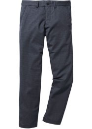 Pantalone chino effetto lana regular fit, bpc selection