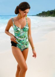 Tankini, bpc selection, Verde / nero