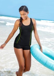 Tankini sportivo, bpc bonprix collection, Nero