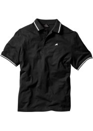 Polo regular fit, bpc bonprix collection, Nero
