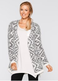 Cardigan in filato peloso, bpc bonprix collection