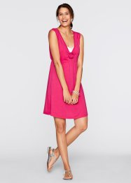 Abito in maglina, bpc bonprix collection, Fucsia scuro