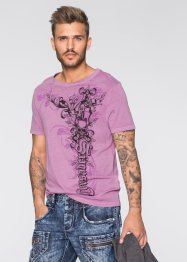 T-shirt slim fit, RAINBOW, Malva