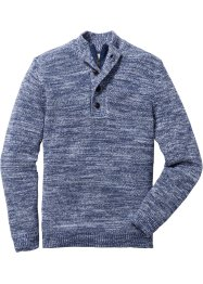 Pullover con bottoni regular fit, John Baner JEANSWEAR
