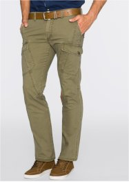 Pantalone cargo regular fit, bpc bonprix collection, Kaki