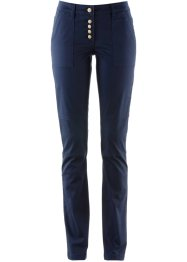 Pantalone chino, bpc bonprix collection, Blu scuro