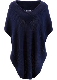 Poncho, bpc bonprix collection, Blu scuro