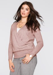 Pullover incrociato, BODYFLIRT