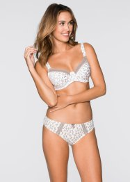 Reggiseno (pacco da 3), bpc bonprix collection, Fantasia + marroncino + champagne