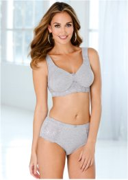 Reggiseno, bpc bonprix collection, Grigio melange