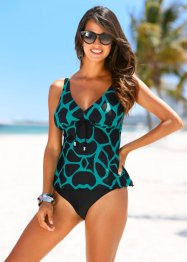 Tankini, bpc selection, Nero / turchese