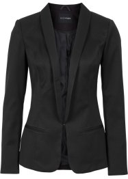 Blazer stile smoking, BODYFLIRT, Nero