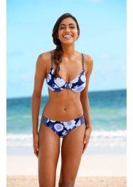 Bikini con ferretto, bpc bonprix collection, Blu