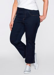 Jeans 7/8 super elasticizzato, bpc bonprix collection, Blu bleached