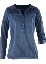 Blusa con pizzo, bpc bonprix collection