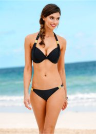 Bikini con ferretto, bpc selection, Nero