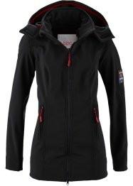 Giacca in softshell, bpc bonprix collection, Nero