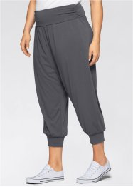 Pantaloni alla turca da wellness, bpc bonprix collection, Antracite