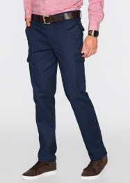 Pantalone termico regular fit straight, bpc bonprix collection, Blu scuro