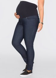 Treggings prémaman super elasticizzato skinny, bpc bonprix collection, Blu scuro