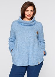 Felpa, bpc bonprix collection, Bluette melange