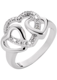 "Anello ""Cuori"", bpc bonprix collection, Argento"