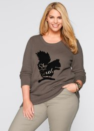 Pullover con stampa, bpc bonprix collection