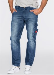 "Jeans ""Dirty Used"" TAPERED, John Baner JEANSWEAR, Blu"
