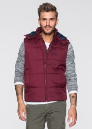 Gilet imbottito regular fit, RAINBOW, Bordeaux