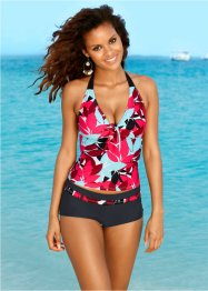Tankini, bpc bonprix collection, Nero / turchese