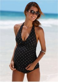 Tankini prémaman, bpc bonprix collection, Nero a pois